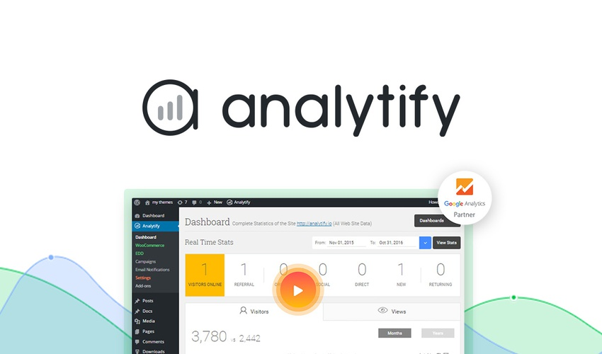 Lifetime access to Analytify's Plan at $49.00 instead of $399.00, Save 88%